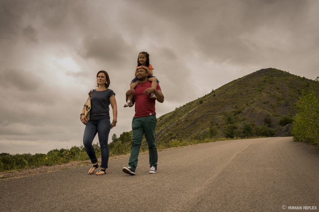 photo famille terrils shooting human reflex