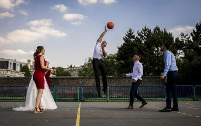 Ça match au wedding basket !