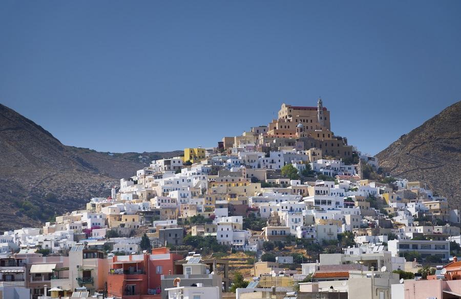 île grecque Syros Ermoupoli human reflex